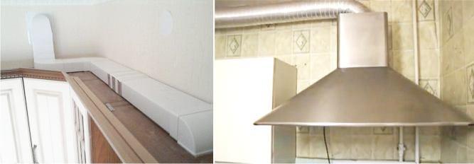 Монтаж кухонной вытяжки kuppersberg