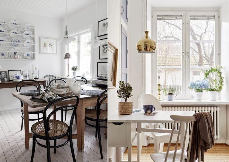 деревянный кухонный стол характеристика и 45 фото